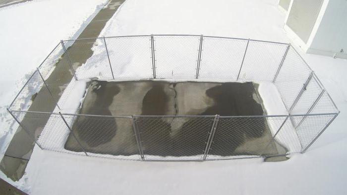 Электропрогрев бетона в зимнее время