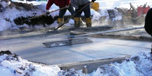 Расчет электропрогрева бетона