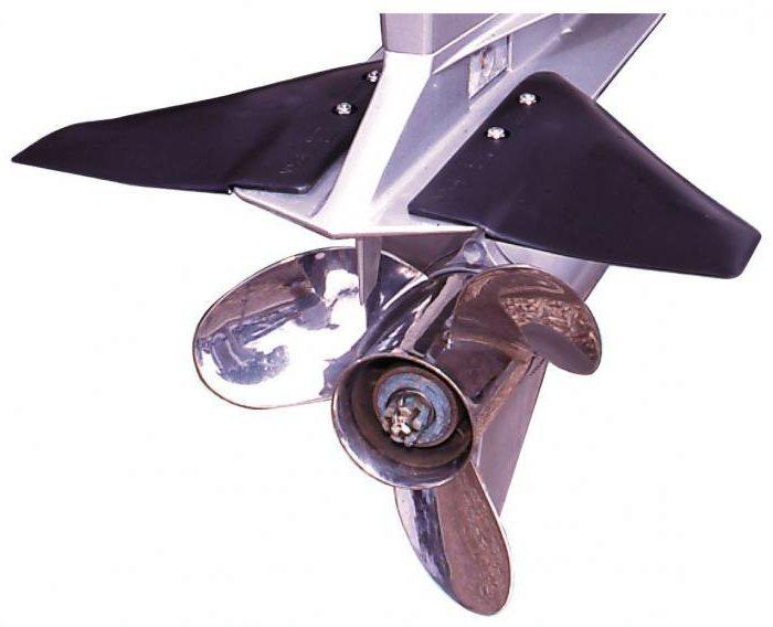 гидрокрыло для маломощного подвесного лодочного мотора