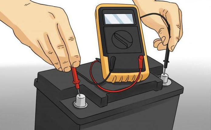 Измерение емкости аккумулятора