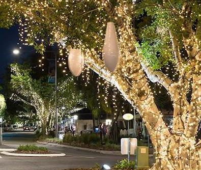 Уличный светильник из дерева своими руками