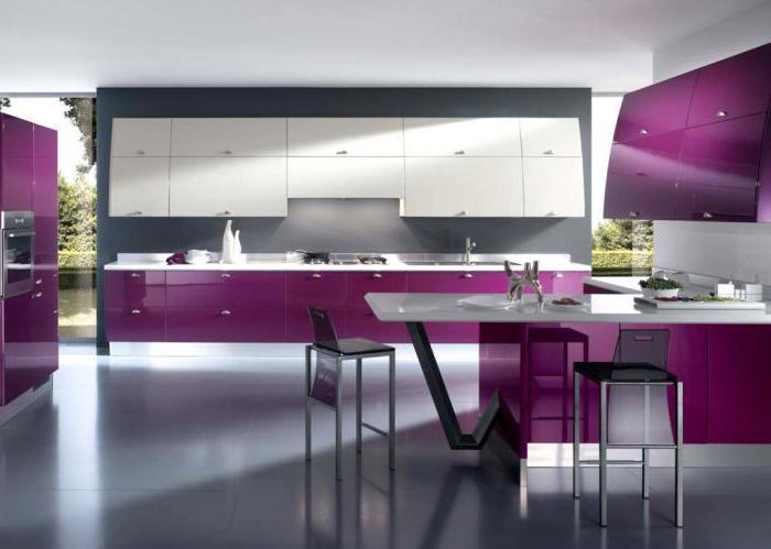 Кухня светлый верх темный низ в интерьере фото