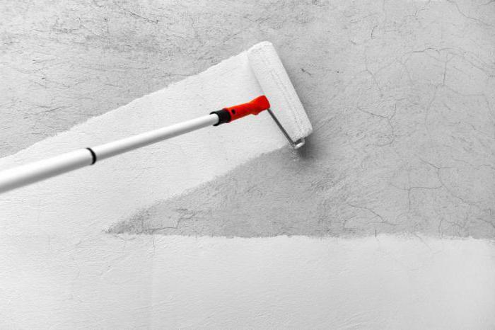 Грунтовка для стен белая