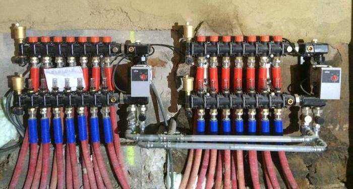 Лучевая система отопления частного дома