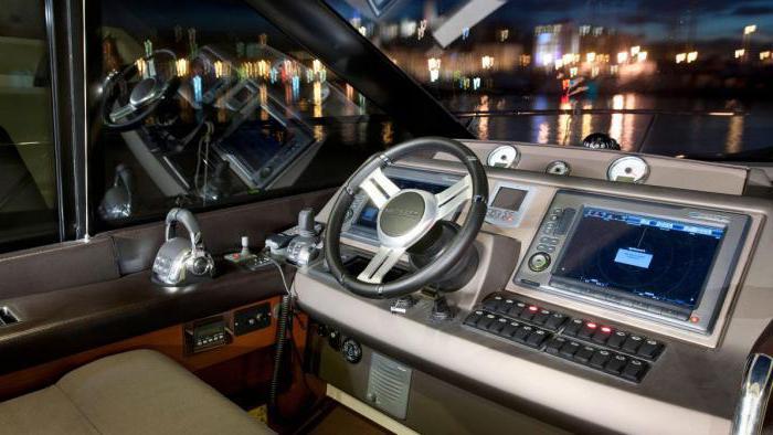 Комплект рулевого управления на лодку