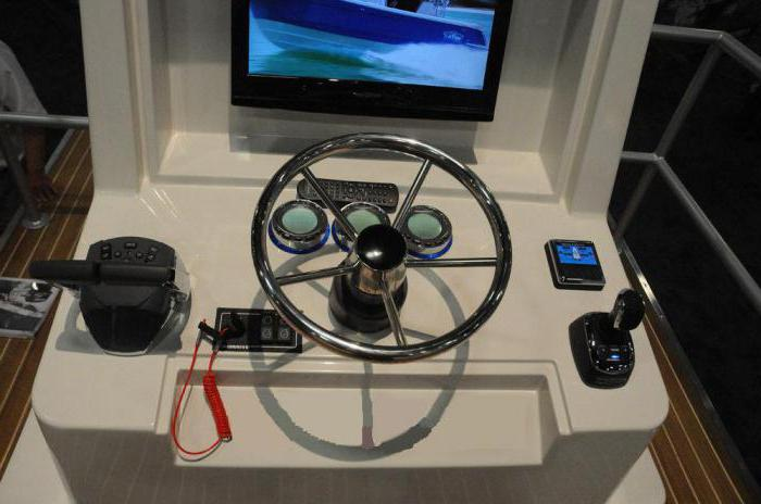 Рулевое управление на лодку Казанка