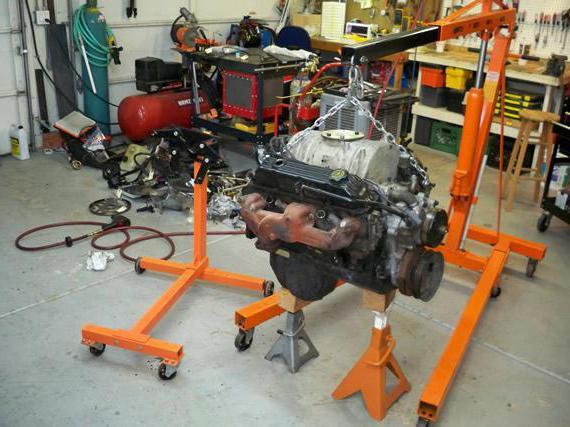 Стенд для разборки и сборки двигателей фото