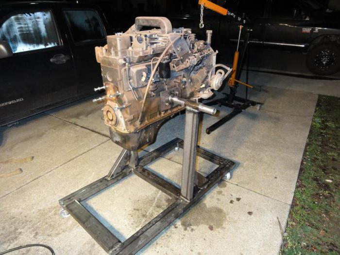 Стенд для разборки и сборки двигателей Камаз