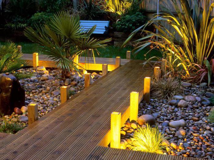 Декоративное освещение загородного дома внутри