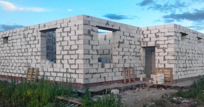 Стоимость строительства дома из газобетона