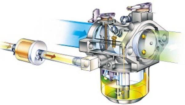 Система питания двигателя бензинового