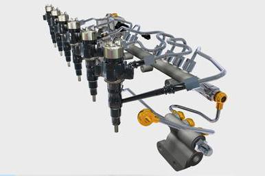 Система питания бензинового двигателя инжектор