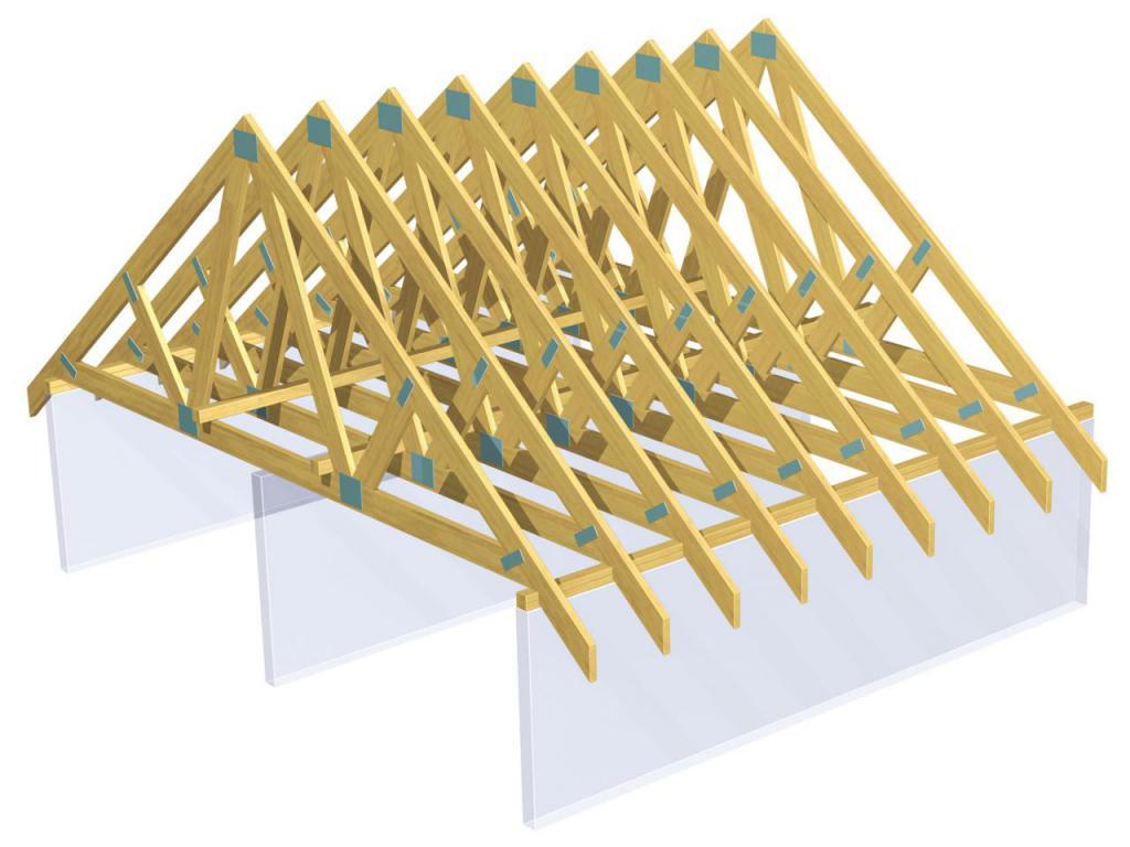 Строительство крыши деревянных домов своими руками