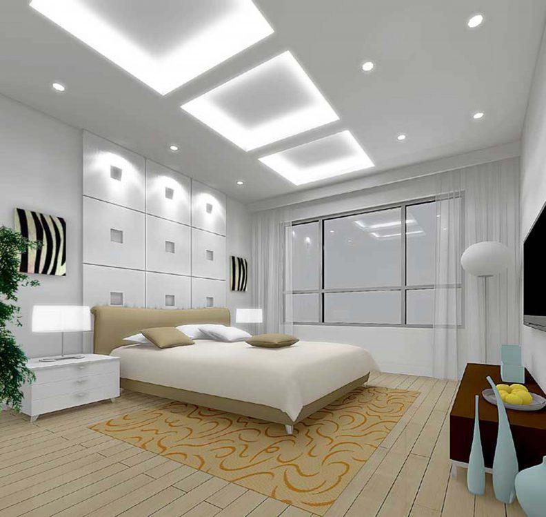 DIY plasterboard suspended ceiling