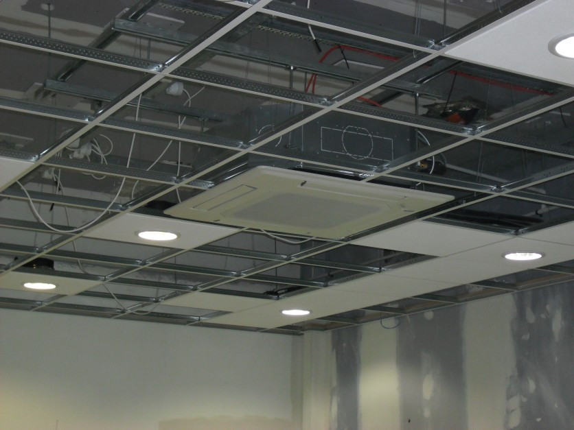 Do-it-yourself suspended ceiling