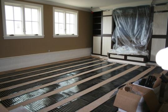 infrared floor heating