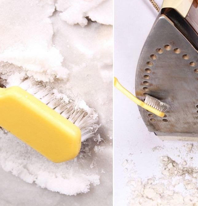 Как почистить утюг в домашних условиях зубной пастой 938