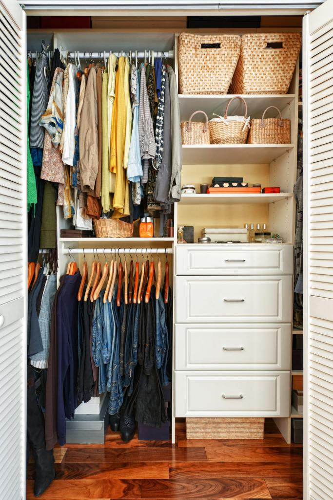Wardrobe from the pantry