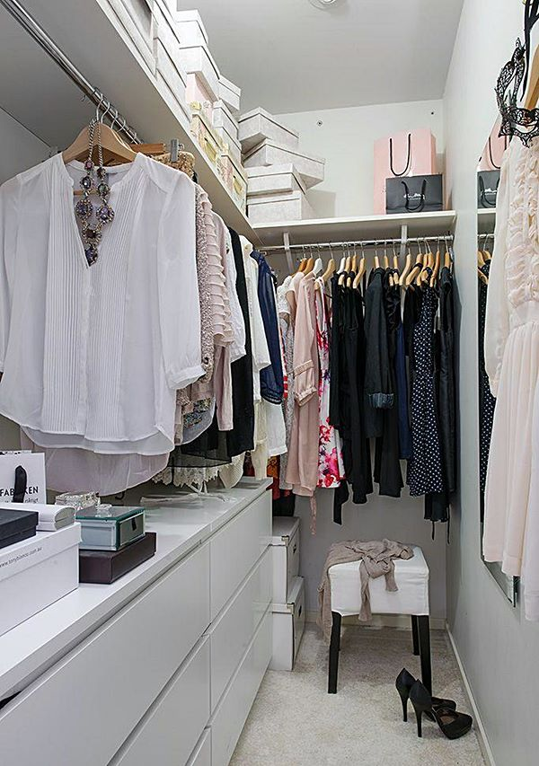 Wardrobe options from the pantry