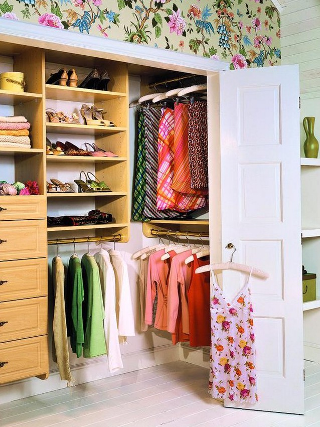 Small closet from the pantry