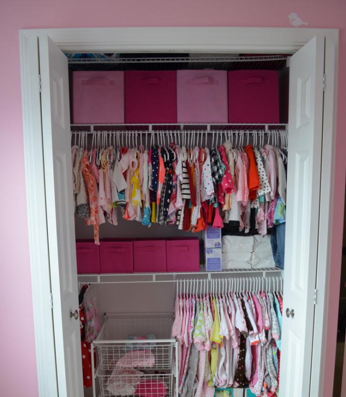 Wardrobe from the pantry in Khrushchev