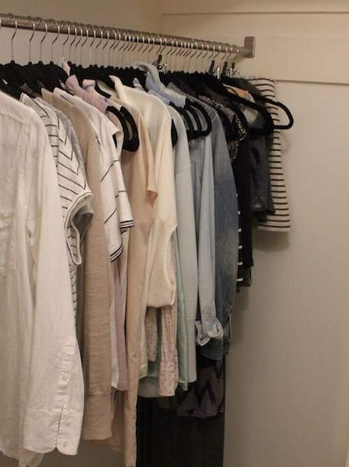 Wardrobe from the pantry in the panel house