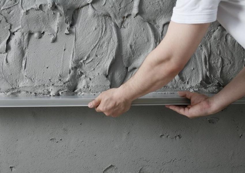 Черновая штукатурка стен своими руками: материалы, как наносить