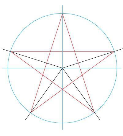 Как красиво нарисовать звезду