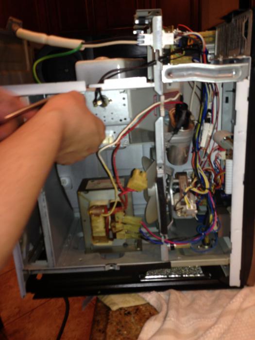 Самостоятельный ремонт микроволновых печей