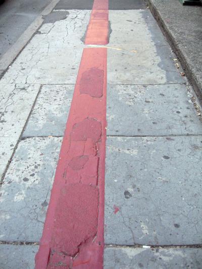 Красная линия улицы это