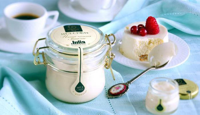 Как сделать мед-суфле в домашних условиях