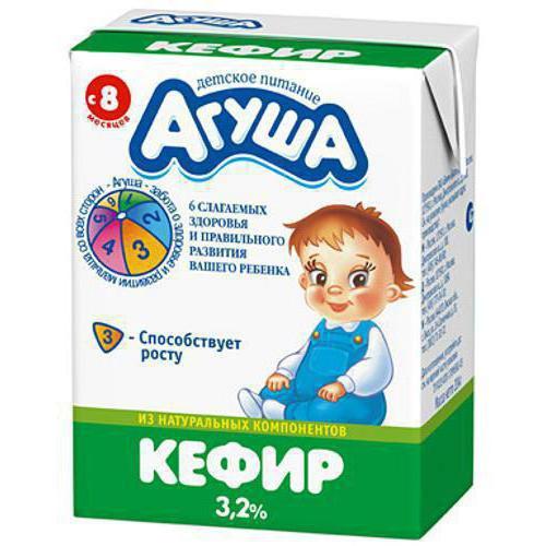 аллергия на кефир агуша
