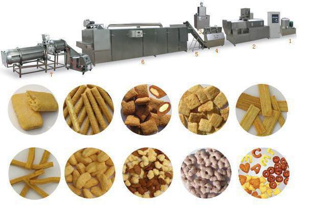 как делают кукурузные палочки на заводе