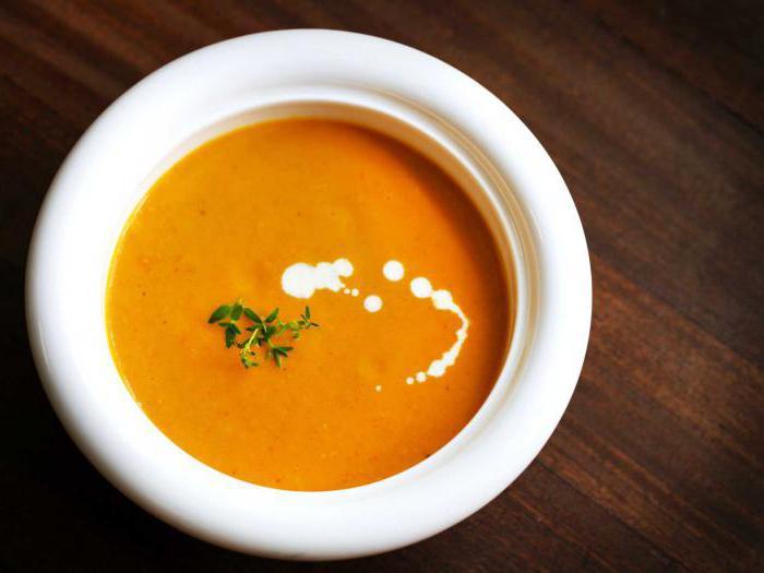 суп пюре из моркови рецепты приготовления