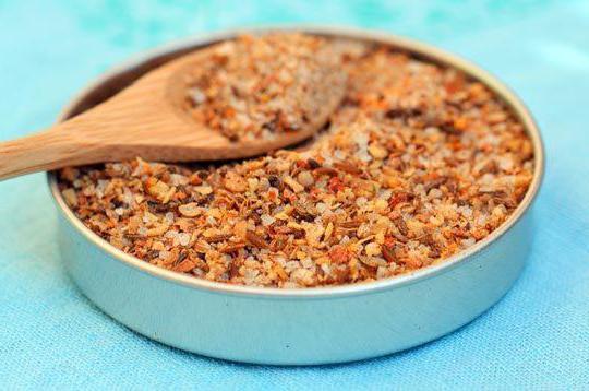 рецепт приготовления сванская соль
