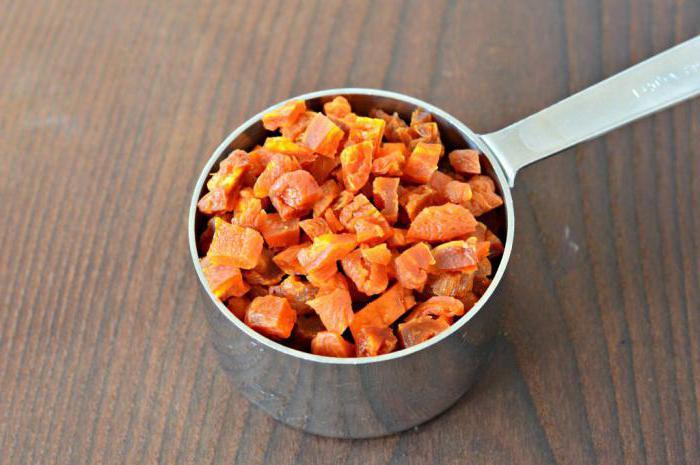 Блюда из сушеной тыквы