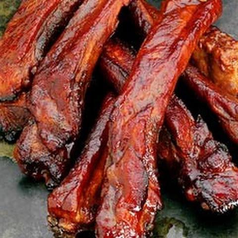 141Рецепт ребрышек свиных в духовке в медовом соусе рецепт