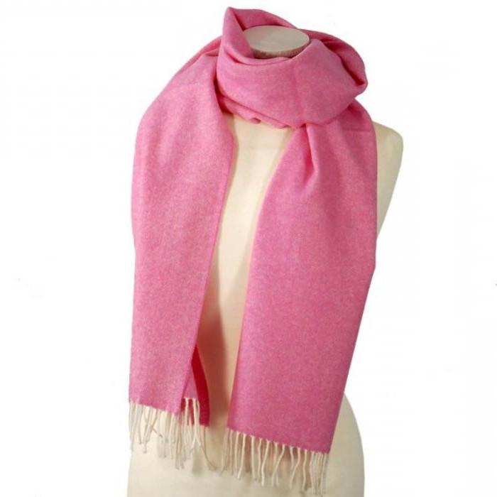 как красиво завязать длинный шарф на куртку