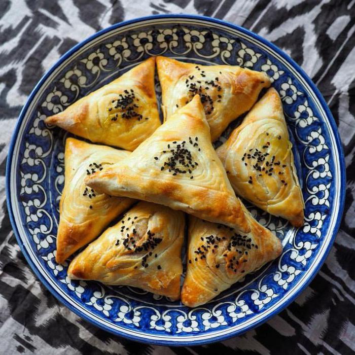 слоеное тесто для самсы рецепт приготовления с фото