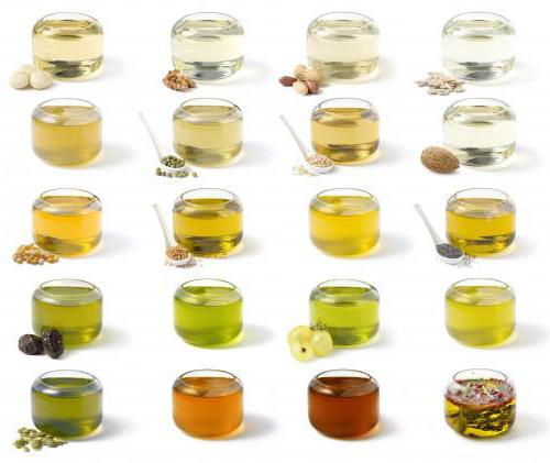 Какие растительные масла бывают?