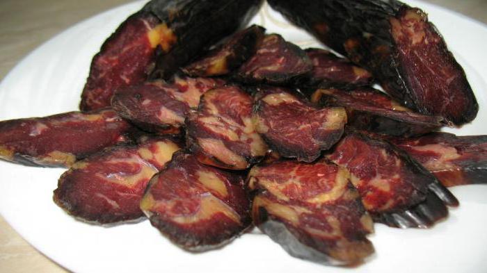 колбаса из конины махан
