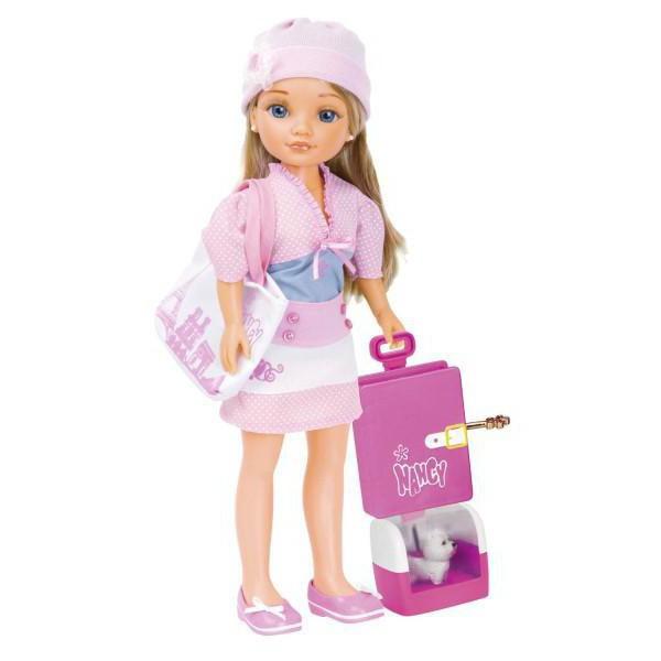 кукла famosa нэнси путешественница