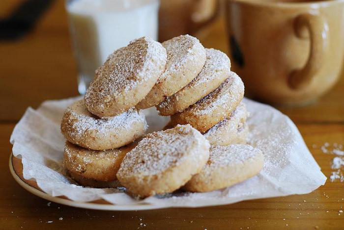 печенье из цельнозерновой муки рецепт