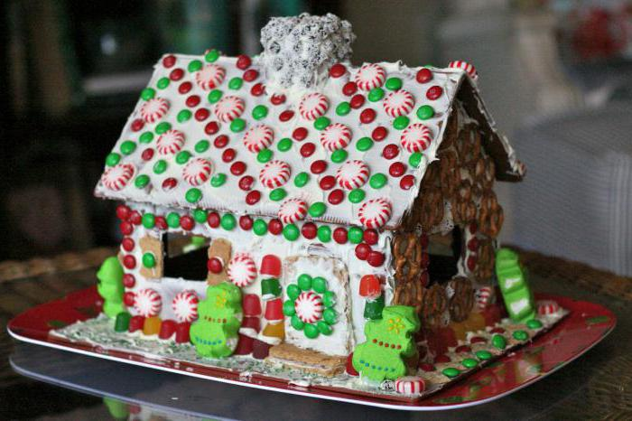 Как сделать пряничный домик в домашних 610
