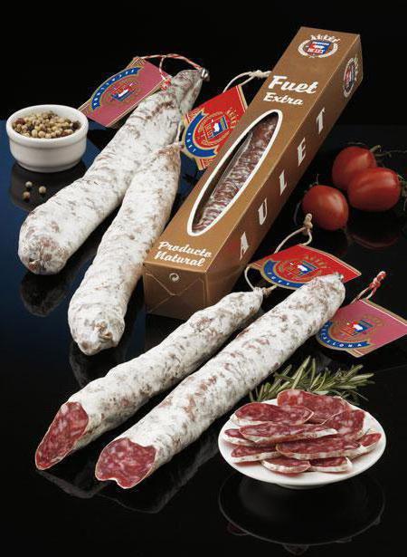 испанская колбаса фуэт
