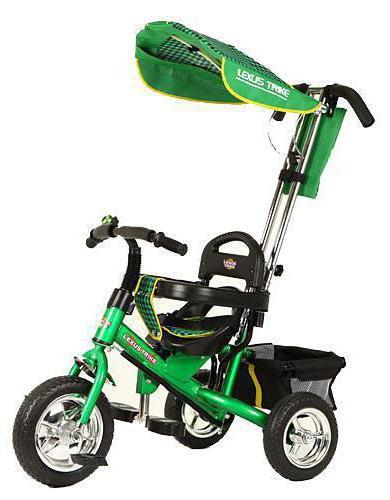 велосипед лексус трехколесный