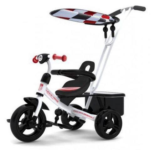 детский трехколесный велосипед лексус