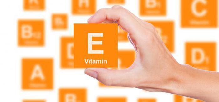 витамин е применение для волос