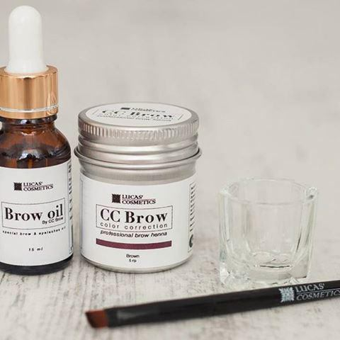 хна для бровей cc brow brown отзывы