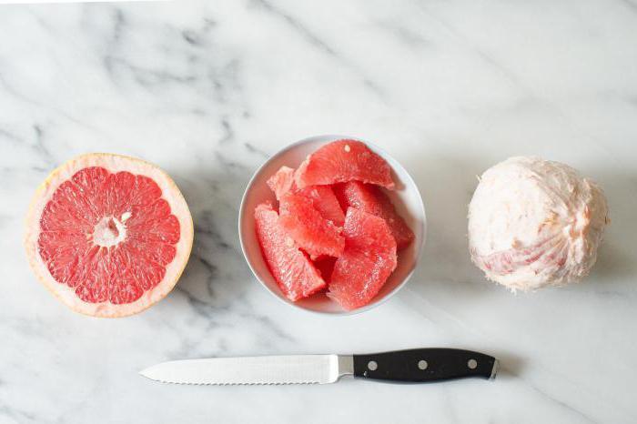 как правильно почистить грейпфрут чтобы не горчил